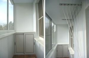 Пример комплексного остекления и утепления балкона