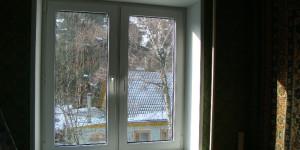 Окно ПВХ с откосами