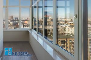 ПВХ остекление балкона – теплый вариант