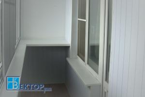 Внутренняя отделка балкона преимущества отделки пластиком