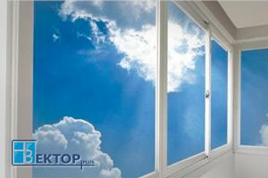 Типовые варианты отделки балконов